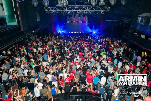 Armin Van Buuren at The Guvernment
