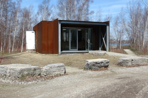 Bird Research Station at Tommy Thompson Park