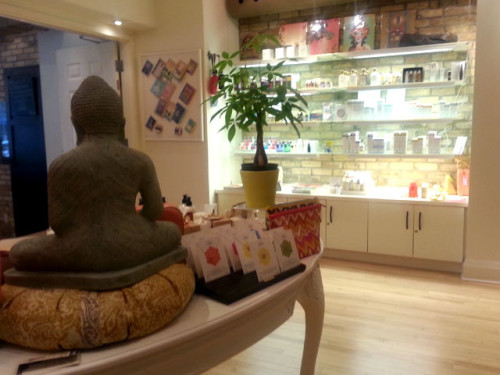 Boutique at 889 Yoga in Toronto