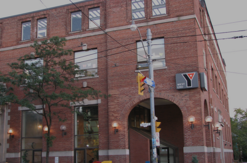 Toronto West End College Street YMCA, photo Ian Muttoo