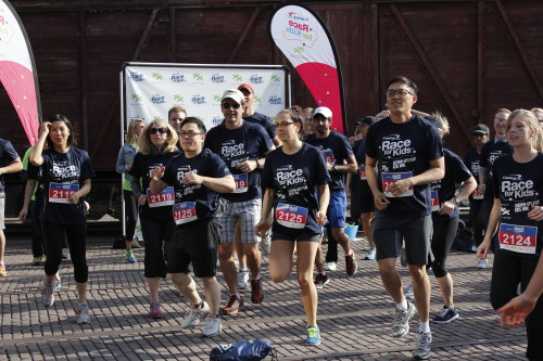 Boys and Girls Clubs of Canada Race for Kids Corporate Challenge