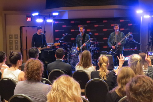 Sam Roberts Band performs at Aeroplan dExclusives launch event