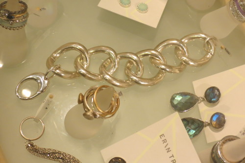 Sterling silver bracelet from Erin Tracy Jewellery