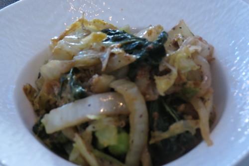 Stir-fried mixed vegetables at Batifole
