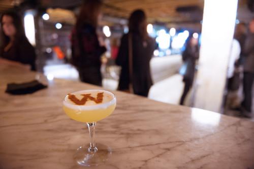 Westini features lemonade, vodka, fresh strawberries on ice