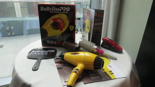BaBylissPro hair dryer