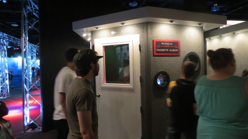 Record your own song at this sound studio booth