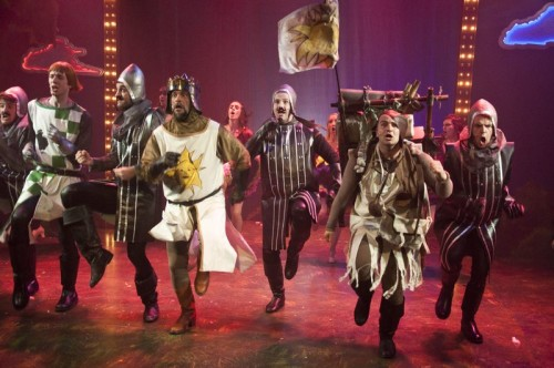 Spamalot at Lower Ossington Theatre, photo Seanna Kennedy