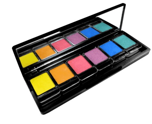 Tropical Bloom Eyeshadow Palette from Delizioso Skin Care