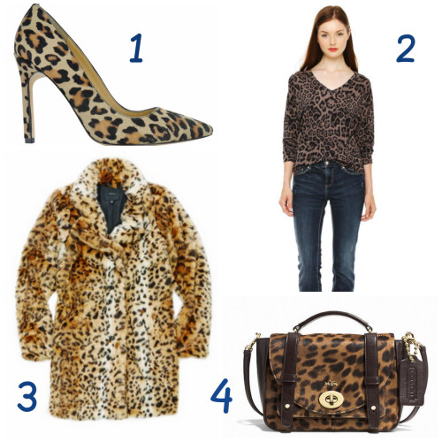 Animal Prints are On Trend for Fall 2014