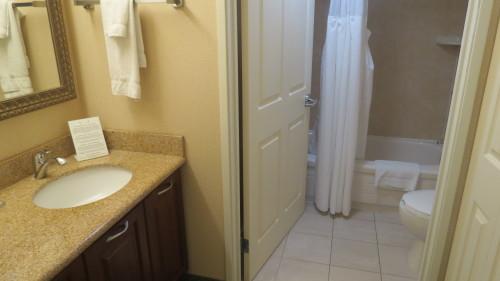 Bathroom at Staybridge Suites Hotel