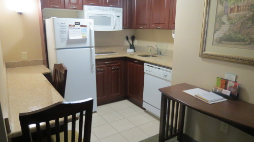 Kitchen in suite at Staybridge Suites Hotel