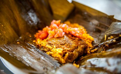 Latin American dish at Pan American Food Festival