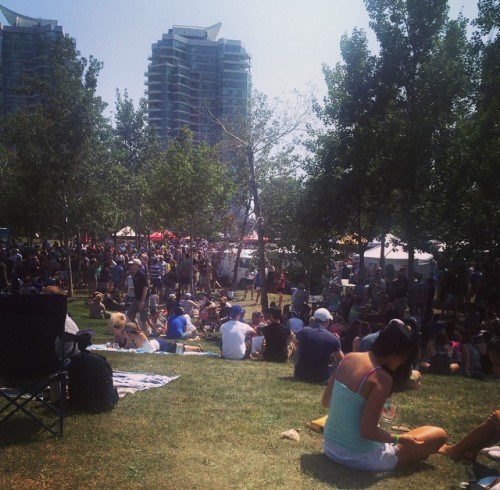 Roundhouse Craft Beer Festival in Roundhouse Park, Toronto