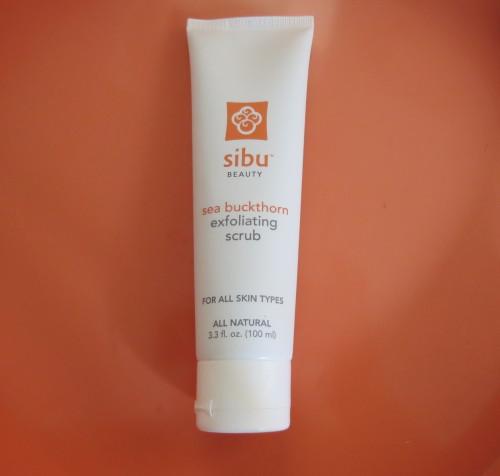Sibu Sea Buckthorn Exfoliating Scrub
