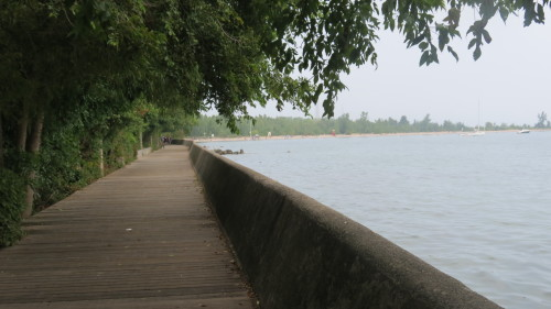 Boardwalk at Ward's Island