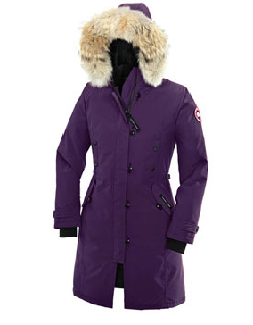 Canada Goose Women's Kensington Parka from Over the Rainbow in A. Dusk, $745