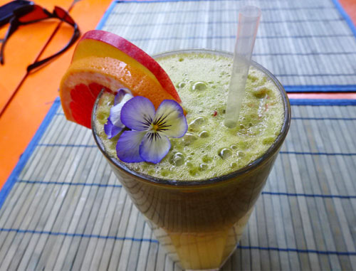 Electricity is one of the many delicious and health-boosting drinks at Live.