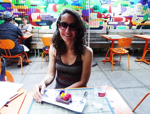 Live's backyard patio is a relaxing place to socialize while eating fantastic food.
