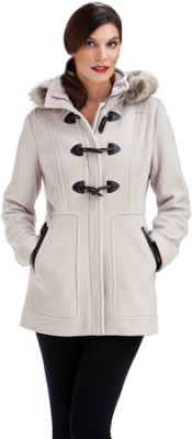 White Duffle Coat from Lorne's Coats