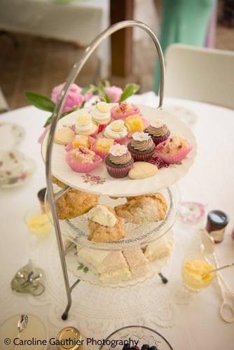 Afternoon Tea by Sharilene Rowland, photo Caroline Gauthier Photography