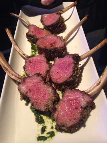 Rack of lamb prepared by Brassaii