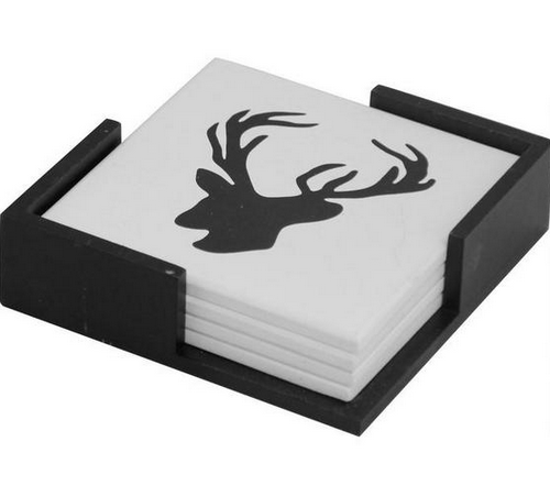 Deer Coasters by Urban Barn, $16