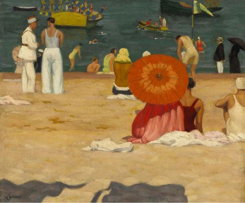 On the Beach, John Lyman