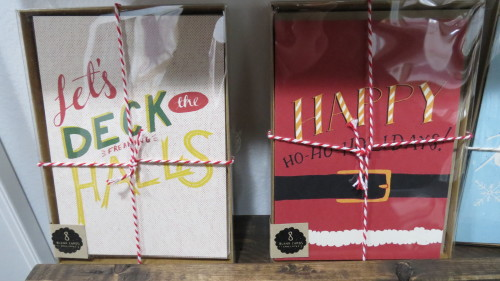 Holiday cards from Sea & Lake Paper Co., $21