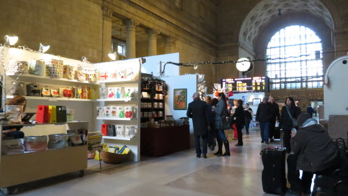 Union Station Holiday Market in Toronto
