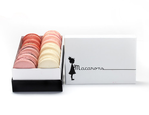 Box of 12 macarons from Petite and Sweet, $34