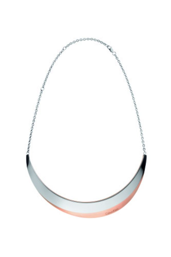 Calvin Klein Breathe Rose Gold and Polished Stainless Steel Choker, $265