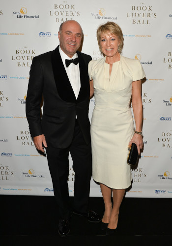 Kevin and Linda O'Leary at Book Lover's Ball in Toronto