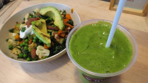 Kale Crush Smoothie at b.good