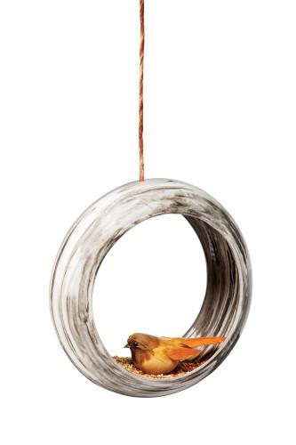 Keri-Lyn Currie Ceramic bird feeder