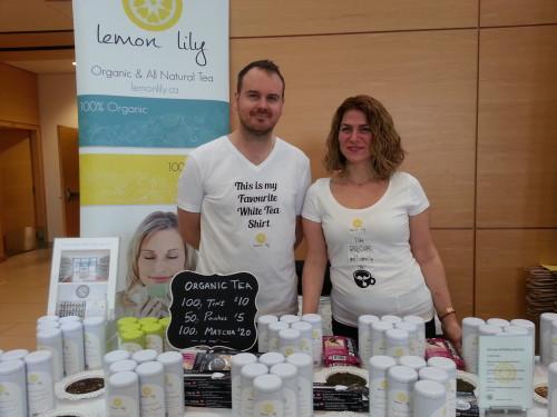 Lemon Lily Natural & Organic Tea at Toronto Tea Festival