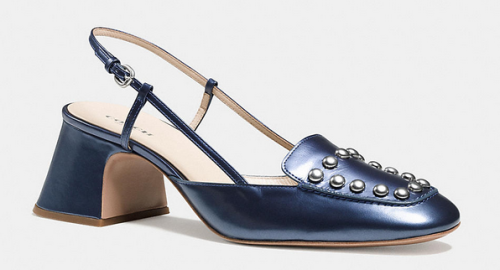 Rivet Sling in Denim Pearl from Coach, $295
