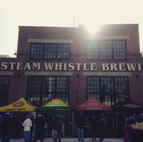 Steam Whistle Brewing in Toronto