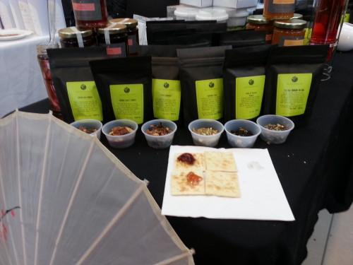 The Tea Emporium loose leaf teas at the Toronto Tea Festival