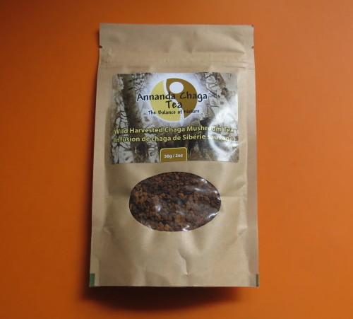Annanda Wild Harvested Chaga Mushroom Tea