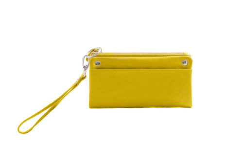 We're giving away a Jeanne Lottie 'Jersey' clutch in yellow