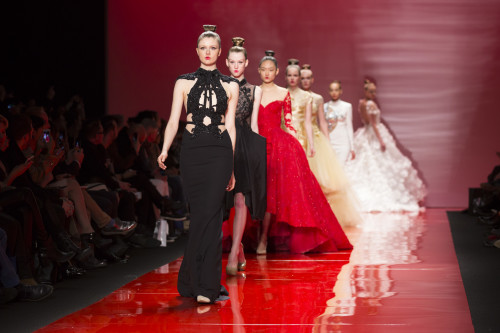 Mikael D Runway Show, Toronto 2015, photo George Pimentel / Getty Images