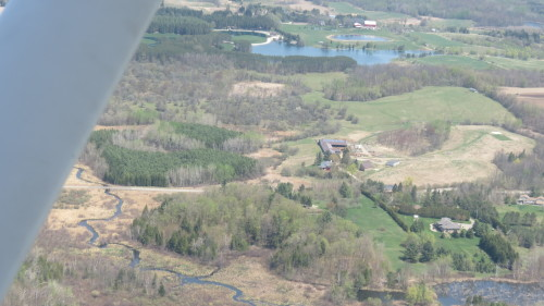 Flight over Caledon area