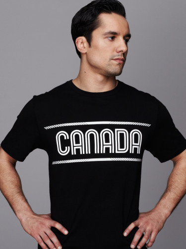 Sergio Pessoa in Hudson's Bay Pan Am Games Men's Tee in Black