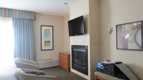 My suite at Best Western Plus Orangeville Inn