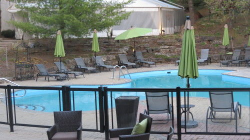 Outdoor pool at Hockley Valley Resort