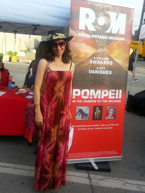Considering a second visit to the ROM's Pompeii exhibit.