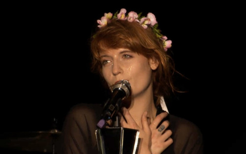 Florence Welch of Florence and the Machine performing in Kraków, photo credit Marie