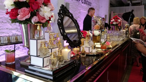 I AM JUICY COUTURE perfume launch on July 16, 2015