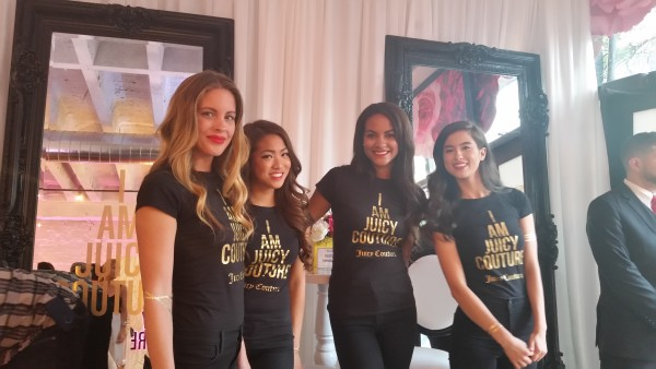 Representatives from Juicy Couture